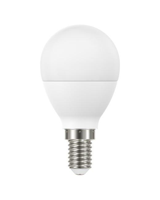 Lampadina LED, E14, Sferico, Smerigliato, Luce calda, 8W=806LM (equiv 60 W), 220° , LEXMAN - 1