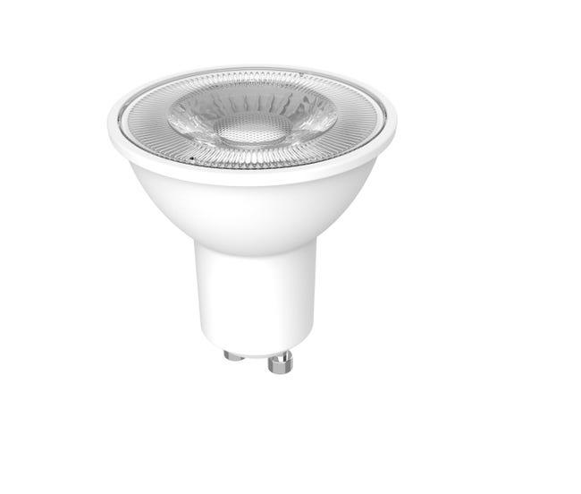 Lampadina LED, GU10, Faretto, Opaco, Luce calda, 4W=230LM (equiv 35 W), 36° , LEXMAN - 1