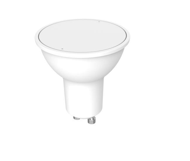 Lampadina LED, GU10, Faretto, Smerigliato, Luce calda, 7.5W=670LM (equiv 70 W), 100° , LEXMAN - 1