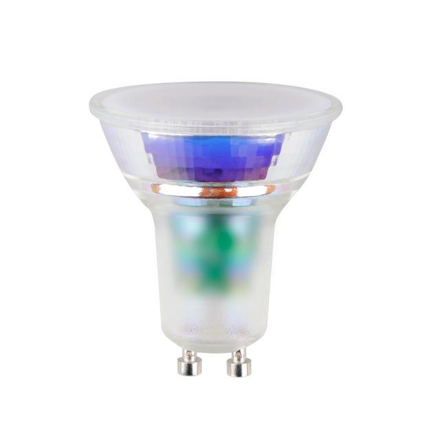 Lampadina LED, GU10, Faretto, Trasparente, CCT, 5W=330LM (equiv 50 W), 100° , LEXMAN - 1