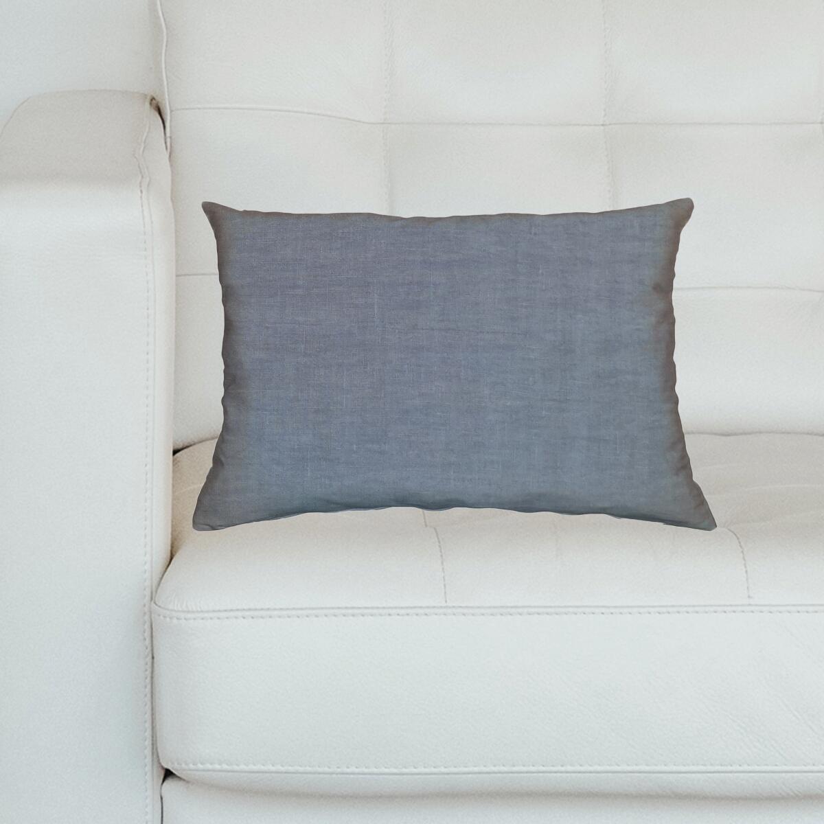 Cuscino Lino viola 40x60 cm - 3