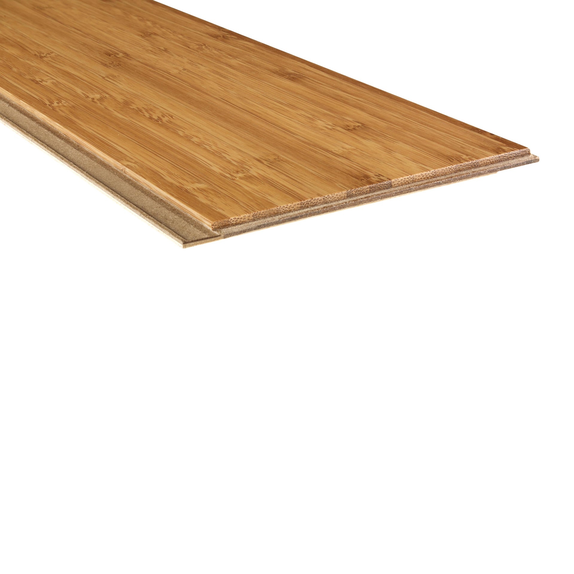 Parquet Multistrato verticale HDF bambù miele - 6