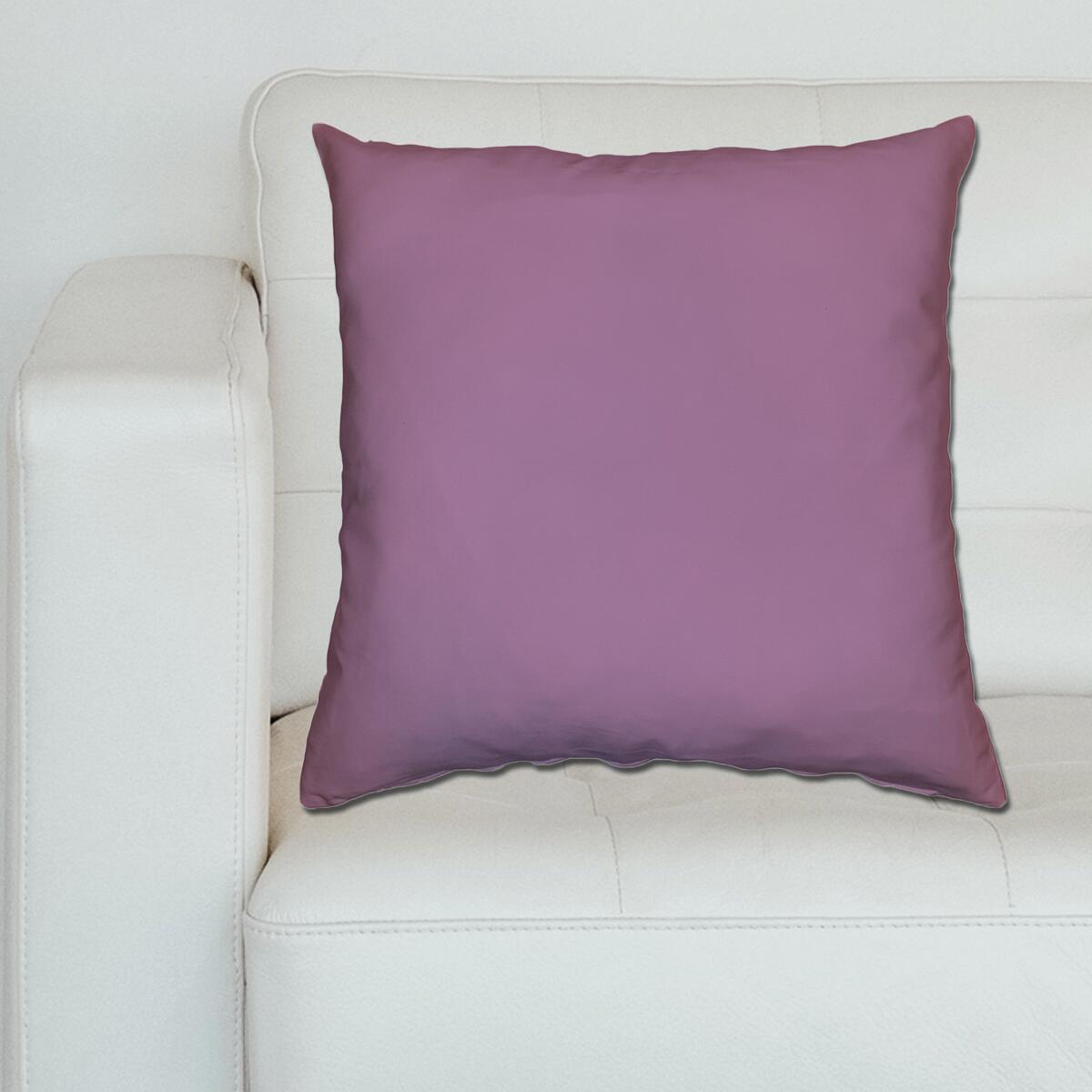 Cuscino Loneta lilla 70x70 cm - 3