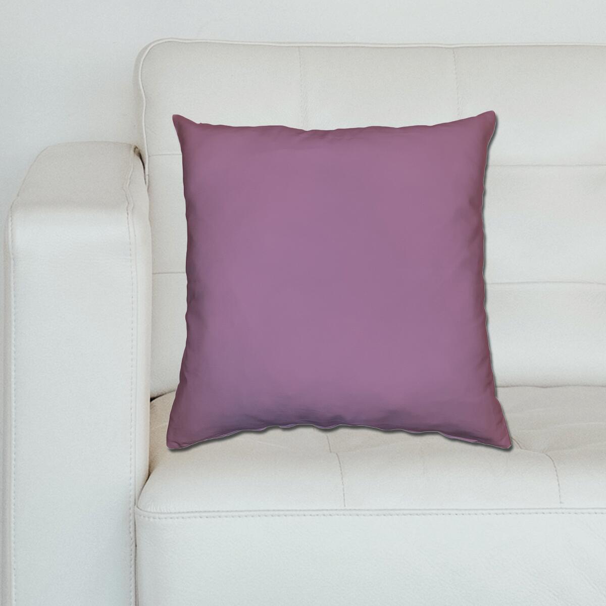 Cuscino Loneta lilla 60x60 cm - 2