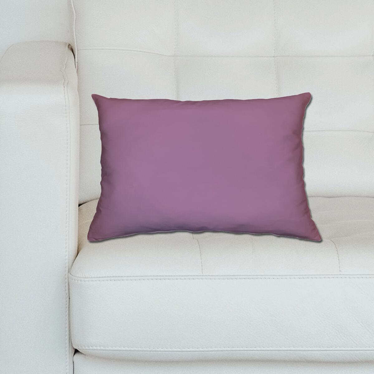 Cuscino Loneta lilla 40x60 cm - 2