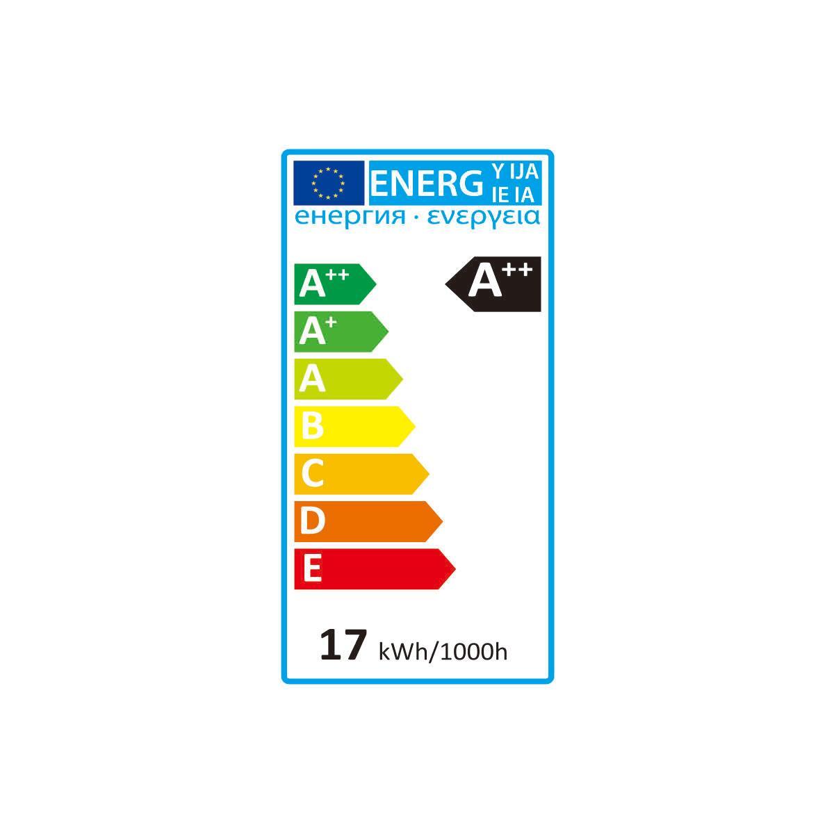 Lampadina LED, E27, Globo, Opaco, Luce naturale, 17W=2452LM (equiv 150 W), 360° , LEXMAN - 2