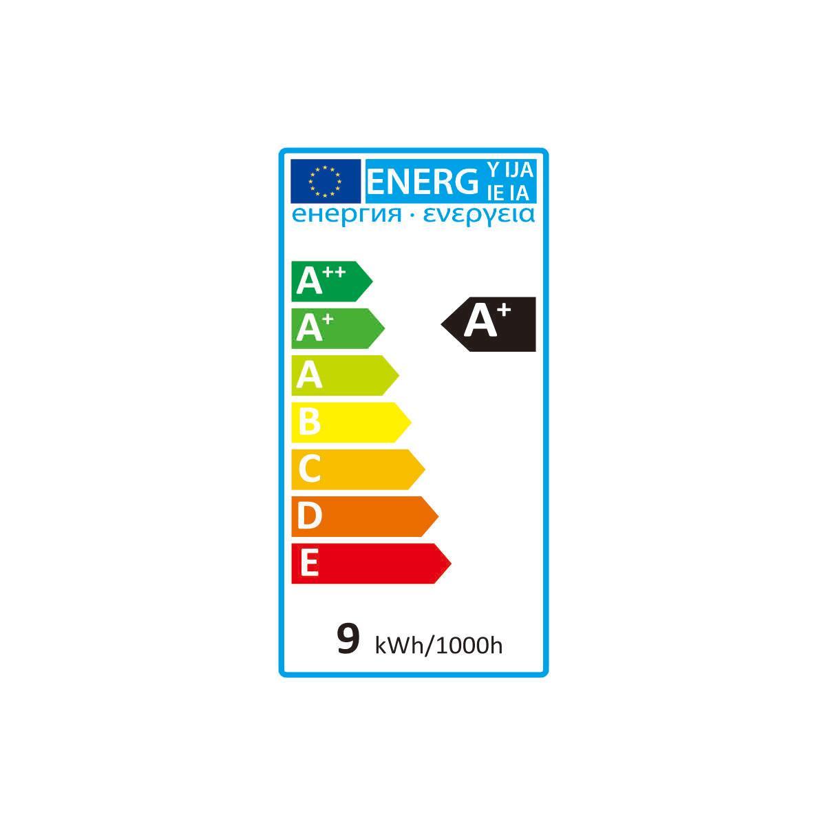 Lampadina LED filamento, E27, Goccia, Opaco, Luce calda, 10W=1055LM (equiv 75 W), 360° , LEXMAN - 5