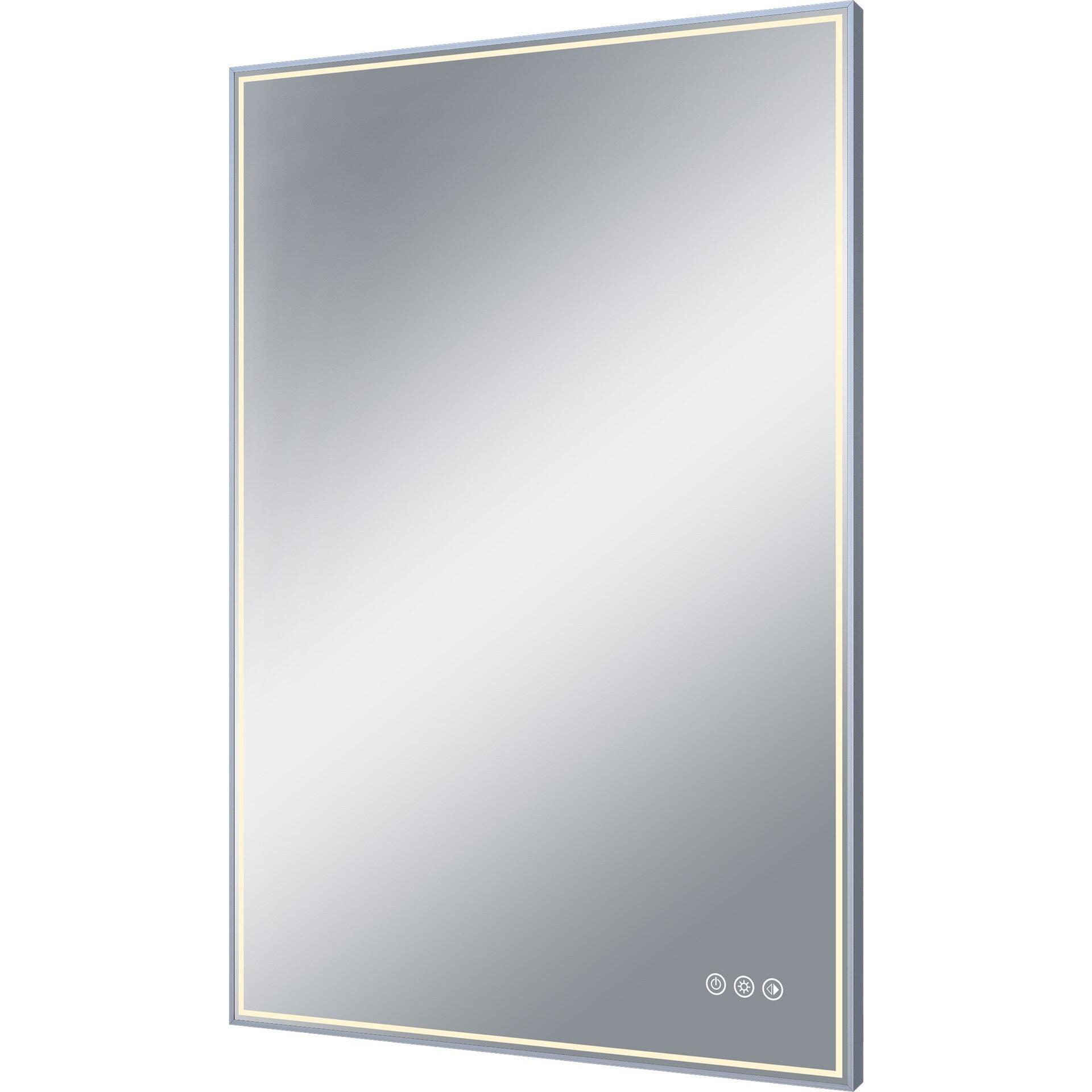 Specchio con illuminazione integrata bagno rettangolare Neo L 60 x H 90 cm SENSEA - 2