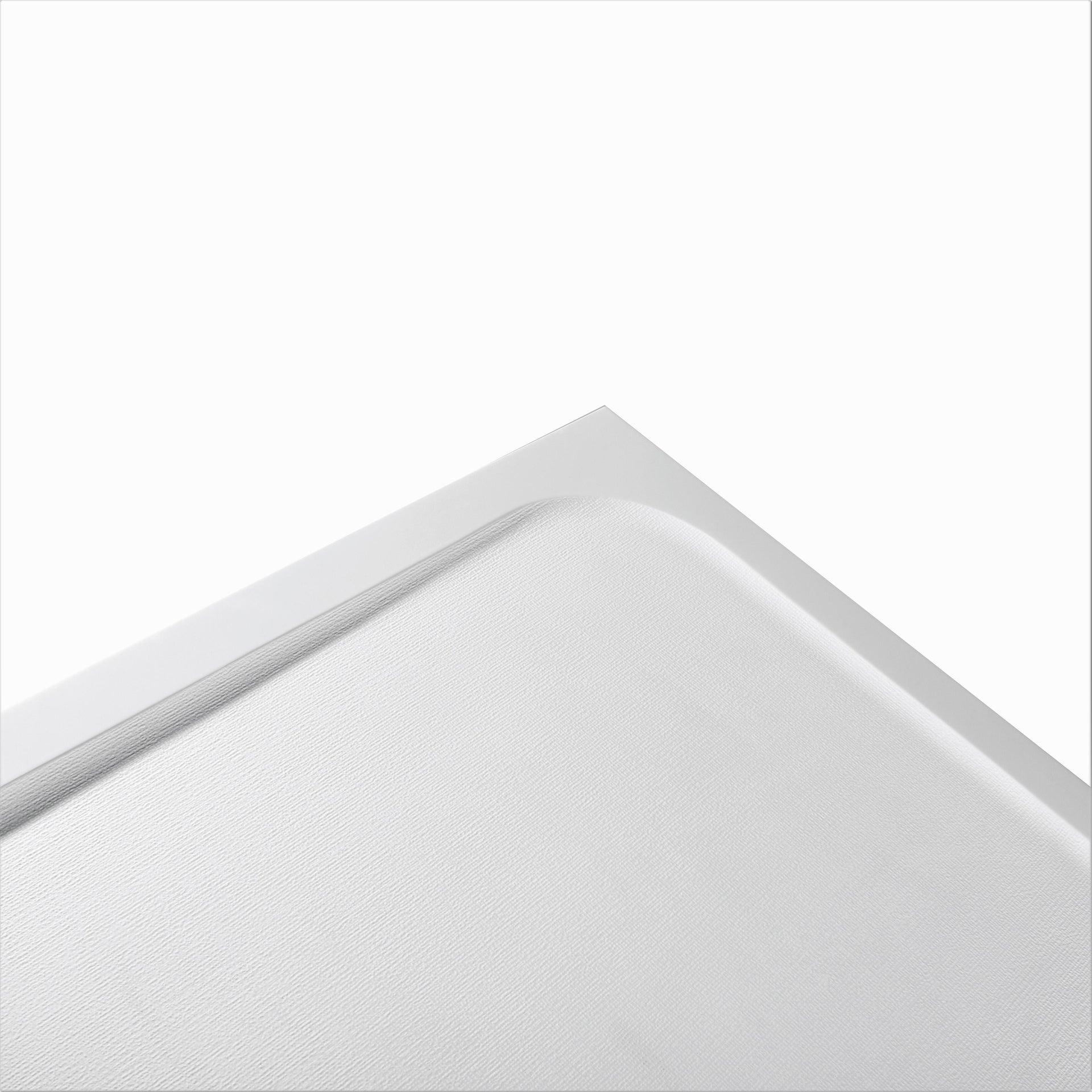 Piatto doccia resina sintetica e polvere di marmo Easy 80 x 80 cm bianco - 3