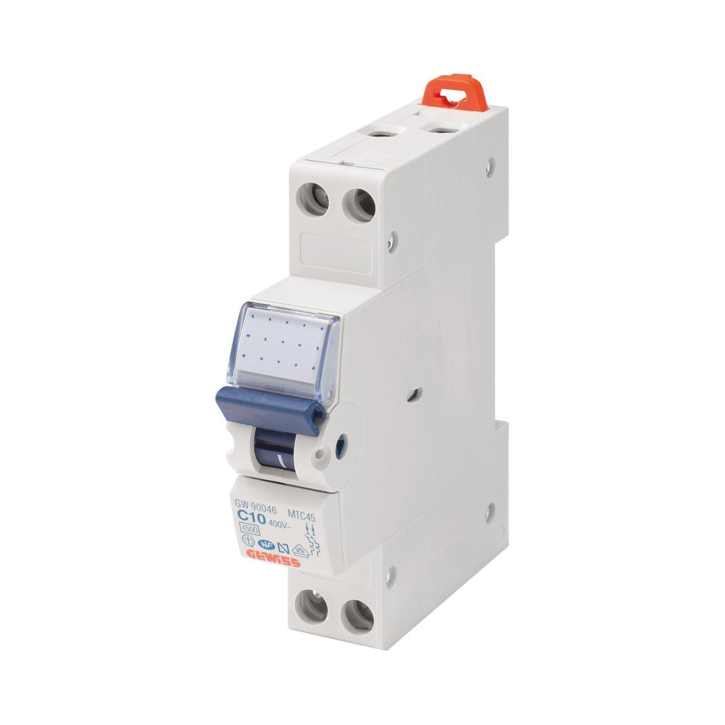 Interruttore magnetotermico GEWISS GW90027 16A C 1 modulo 230V