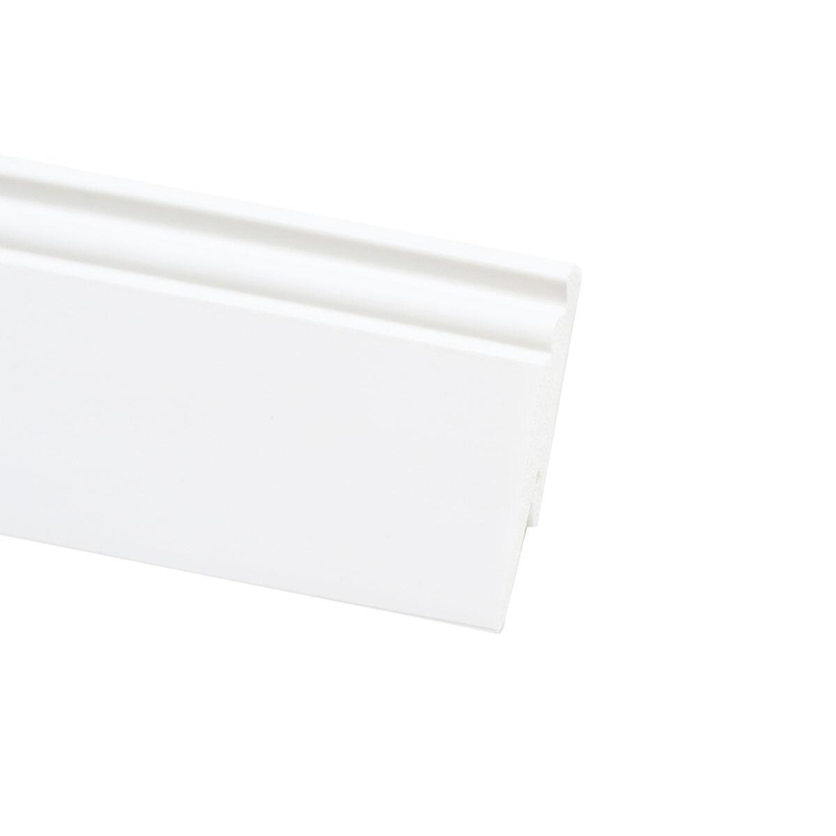 Battiscopa H 9 cm x L 2.4 m bianco - 3