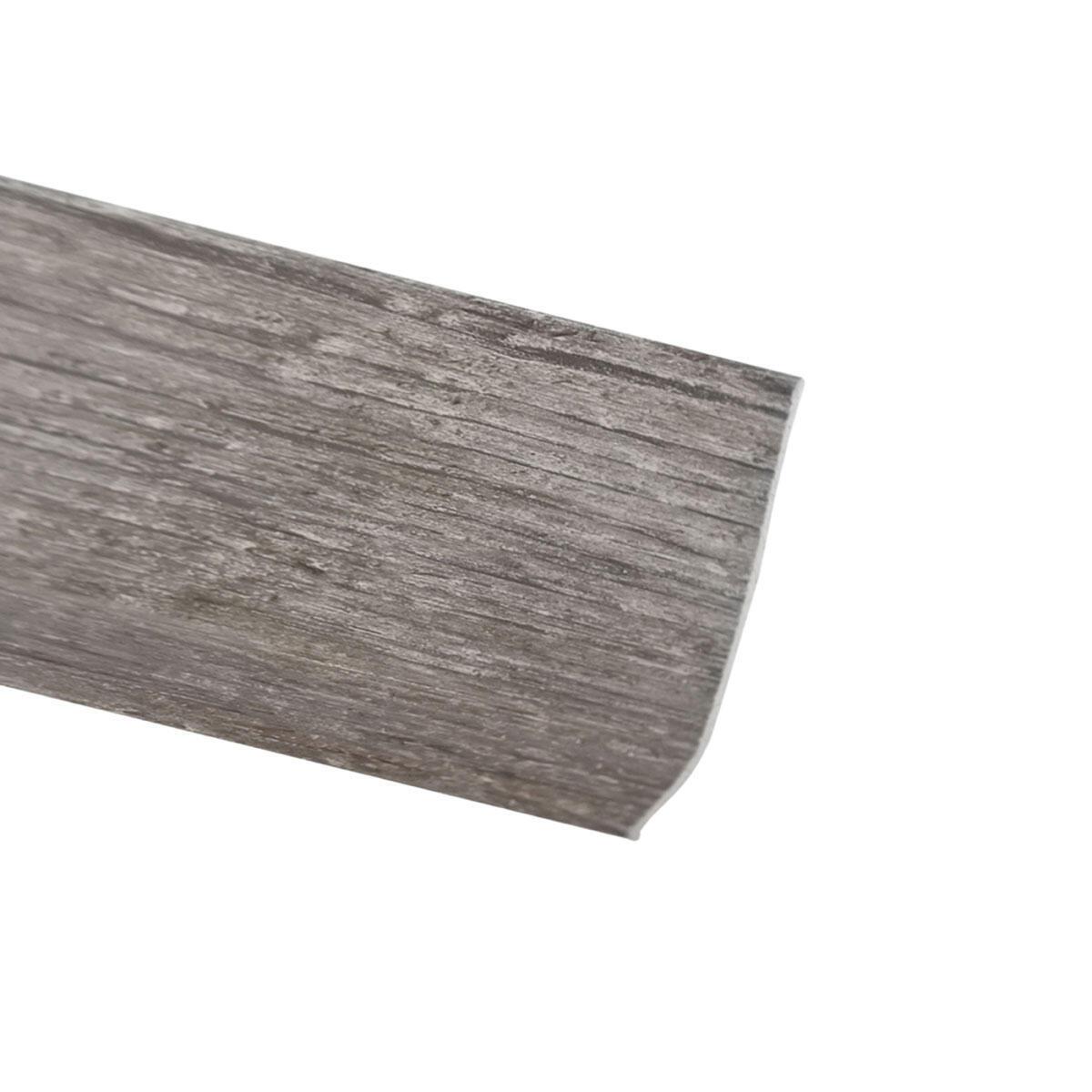 Battiscopa H 7 cm x L 2 m rovere grigio - 2