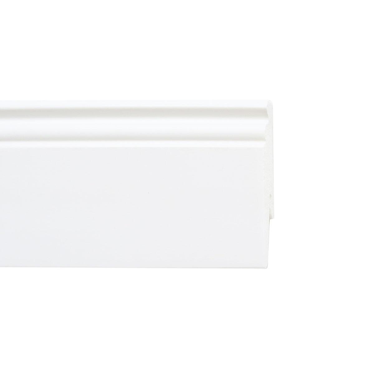 Battiscopa H 9 cm x L 2.4 m bianco - 2
