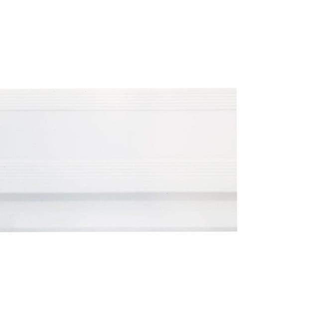 Battiscopa H 9 cm x L 2.4 m bianco - 1