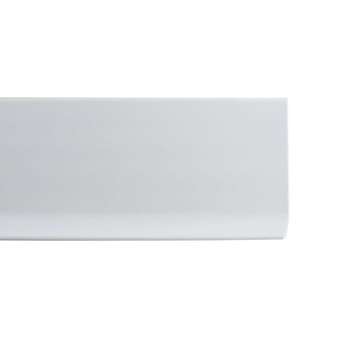 Battiscopa H 8 cm x L 2 m bianco
