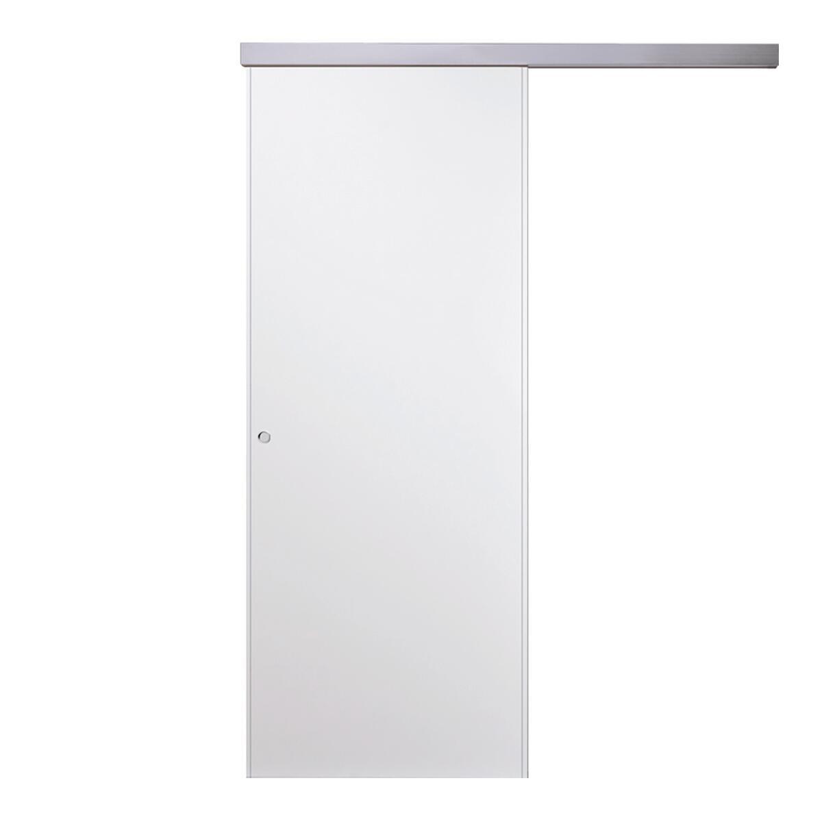Porta scorrevole con binario esterno Vega in mdf, L 70 x H 210 cm