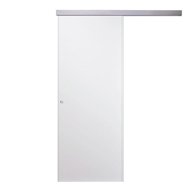 Porta scorrevole con binario esterno Vega in mdf, L 70 x H 210 cm - 1