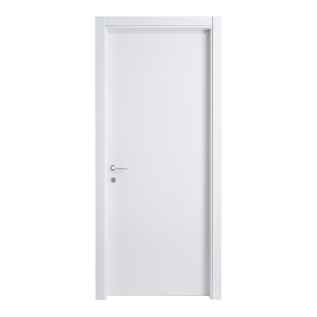 Porta a battente Vega bianco laccato L 70 x H 210 cm reversibile - 4