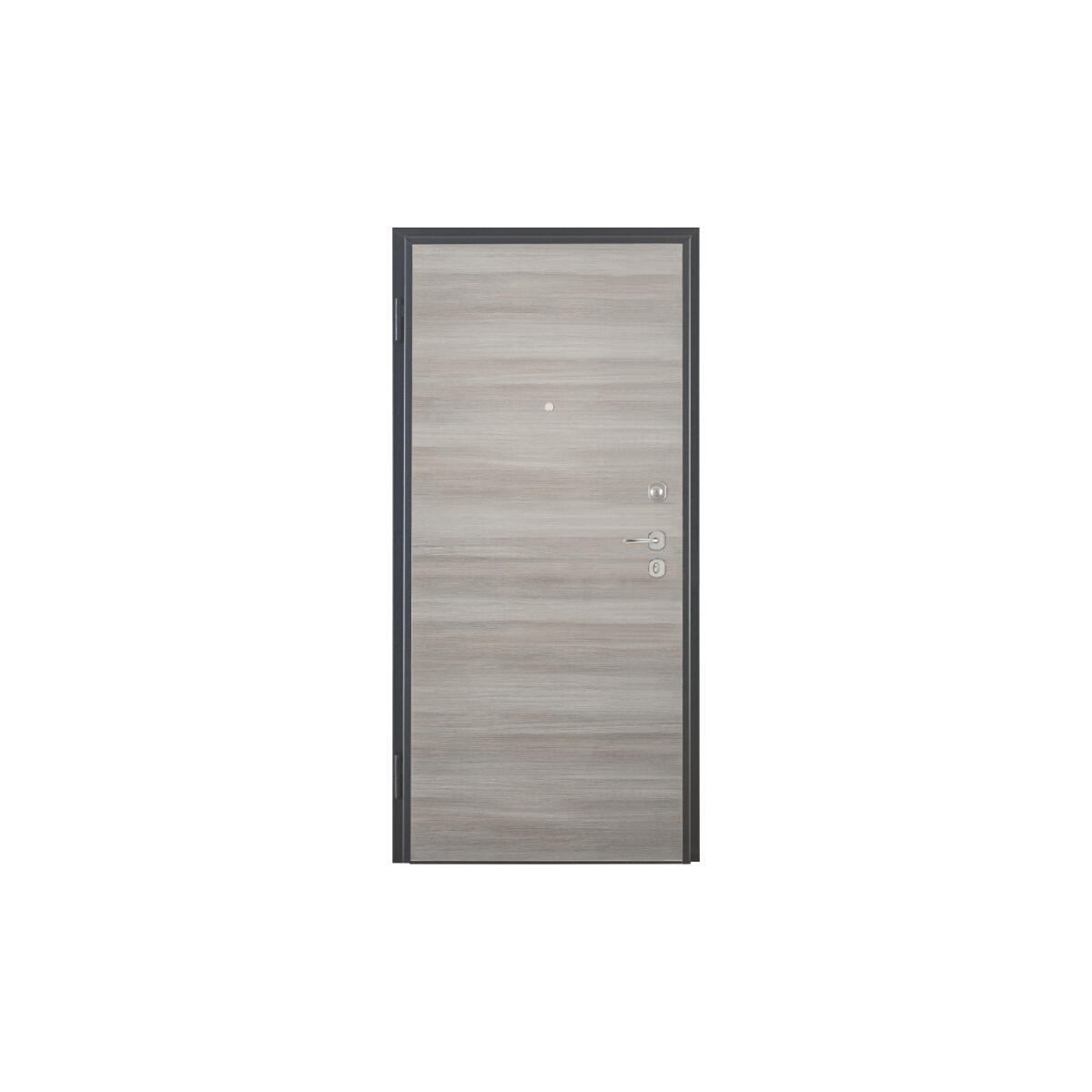 Porta blindata Blocked marrone L 90 x H 210 cm destra - 3