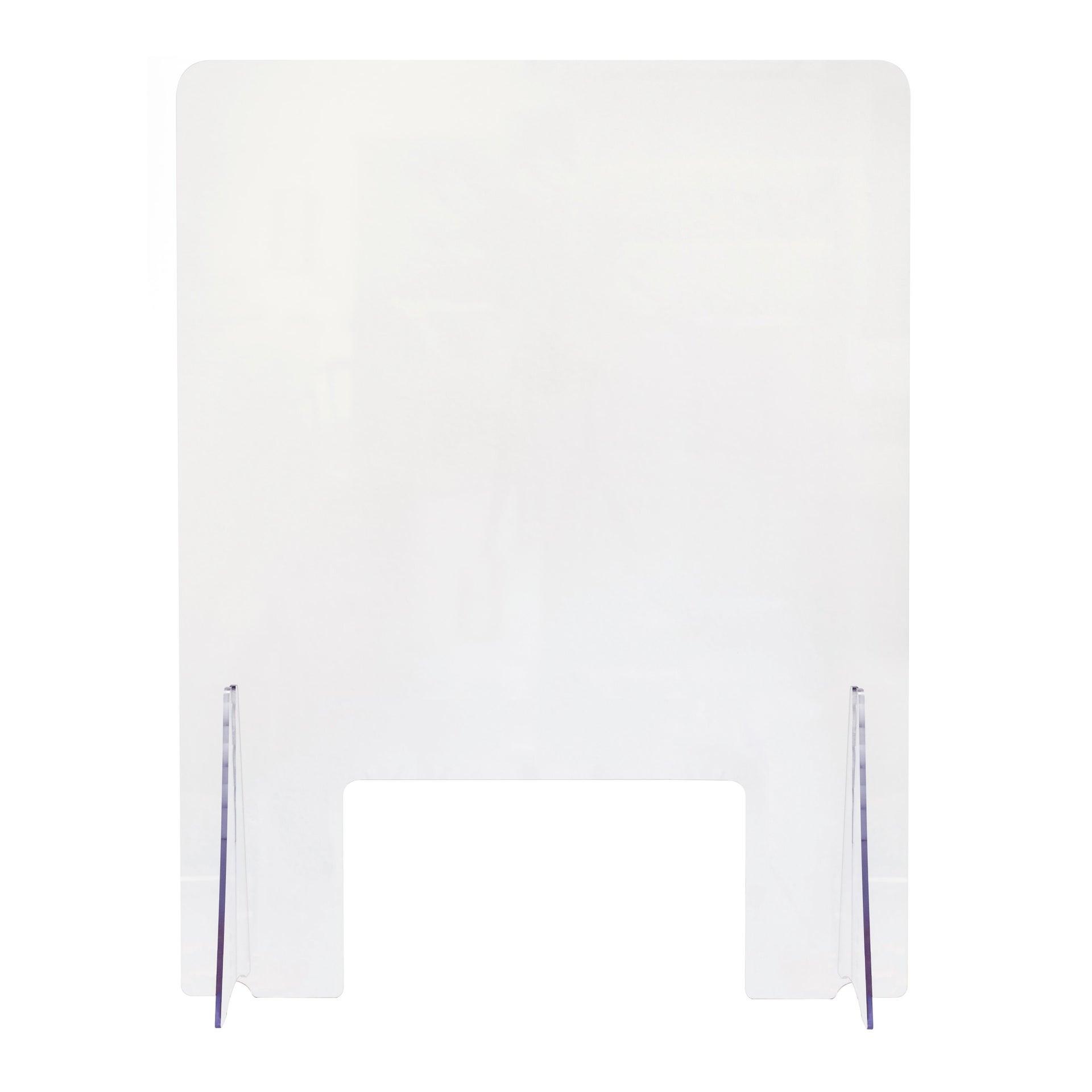 Schermo di protezione acrilico trasparente 80 cm x 80 cm, Sp 0.5 mm - 2