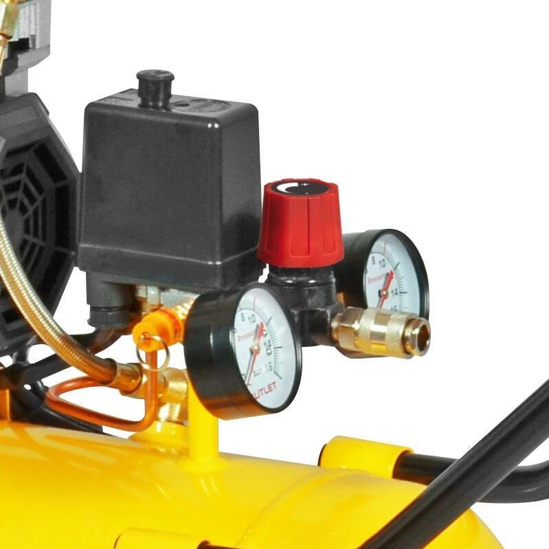 Compressore silenziato STANLEY SXCMS2050HE, 2 hp, 8 bar, 50 L - 6