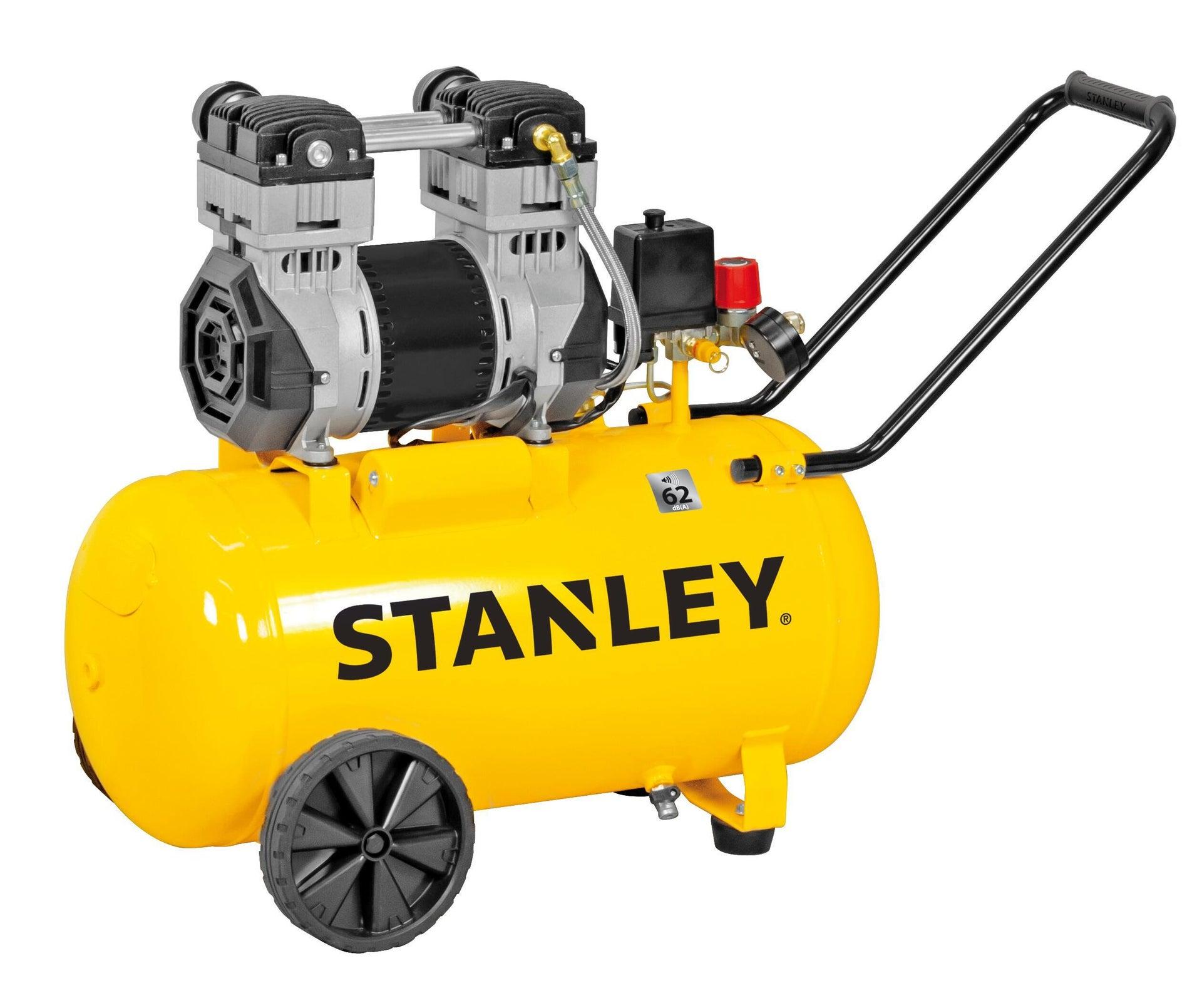 Compressore silenziato STANLEY SXCMS2050HE, 2 hp, 8 bar, 50 L - 1