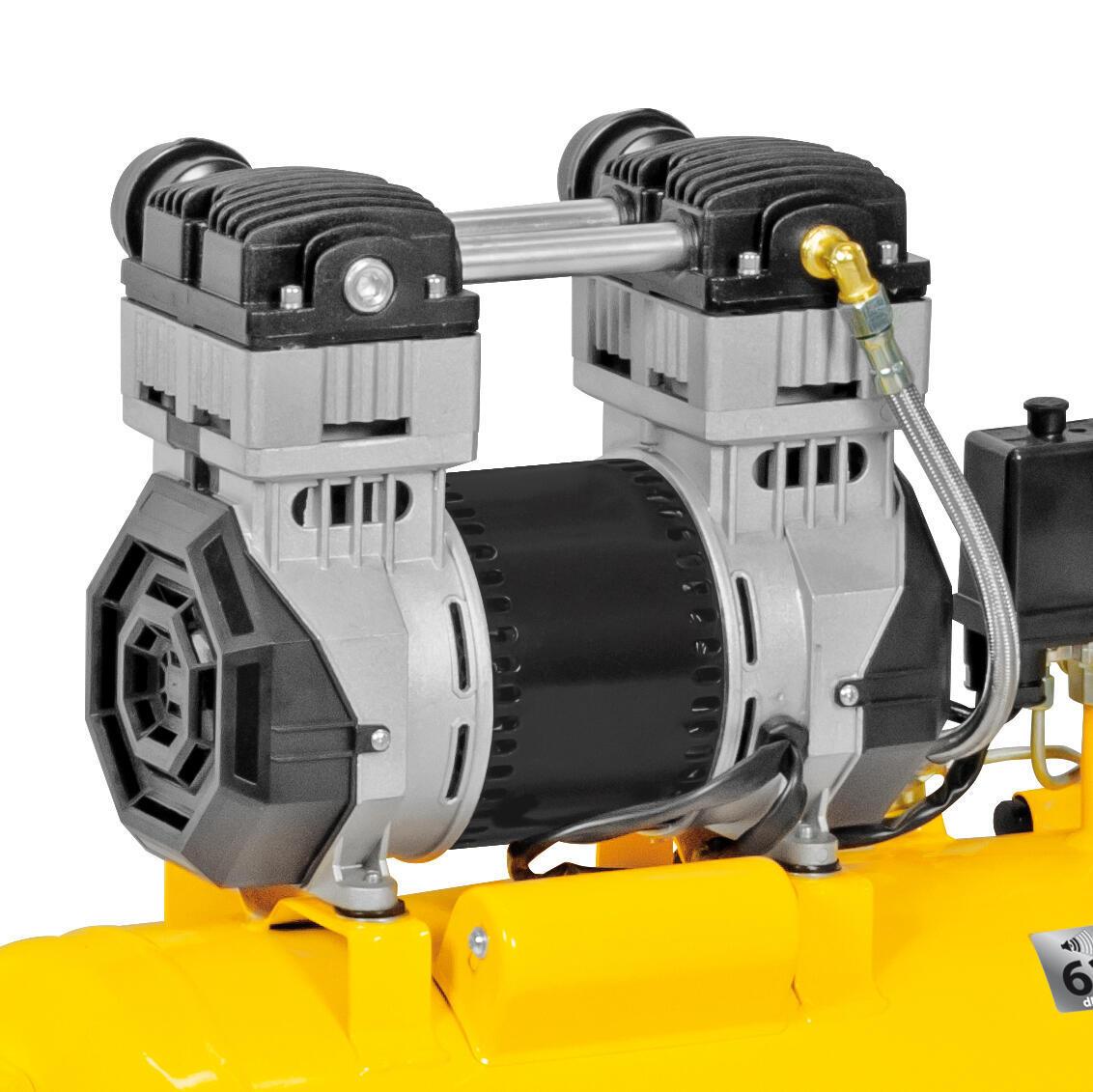 Compressore silenziato STANLEY SXCMS2050HE, 2 hp, 8 bar, 50 L - 2