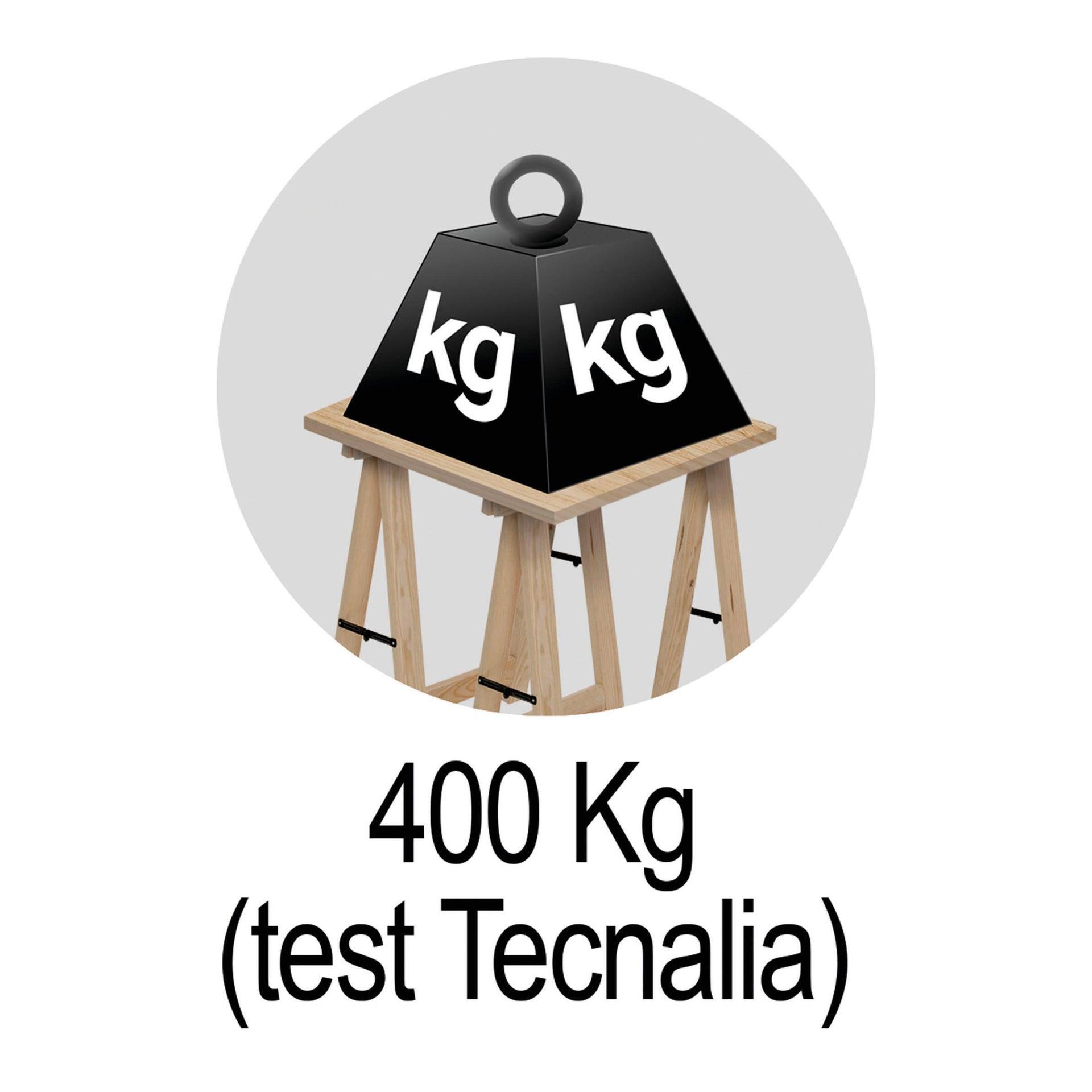 Cavalletto in pino Standard L 73.5 x P 73.5 x H 74 cm legno naturale - 17