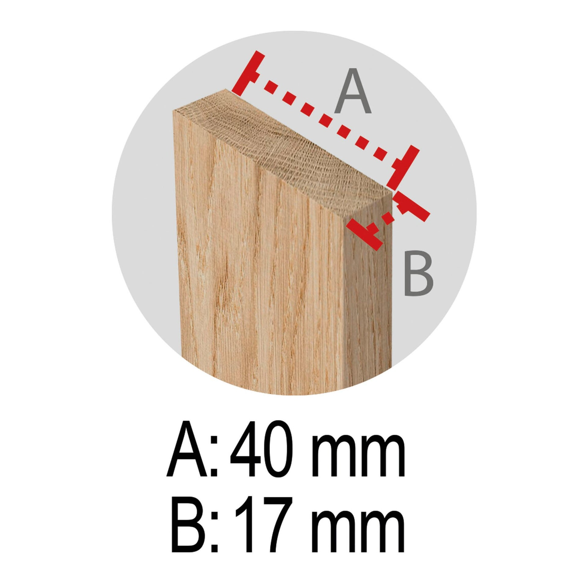 Cavalletto in pino Standard L 73.5 x P 73.5 x H 74 cm legno naturale - 11