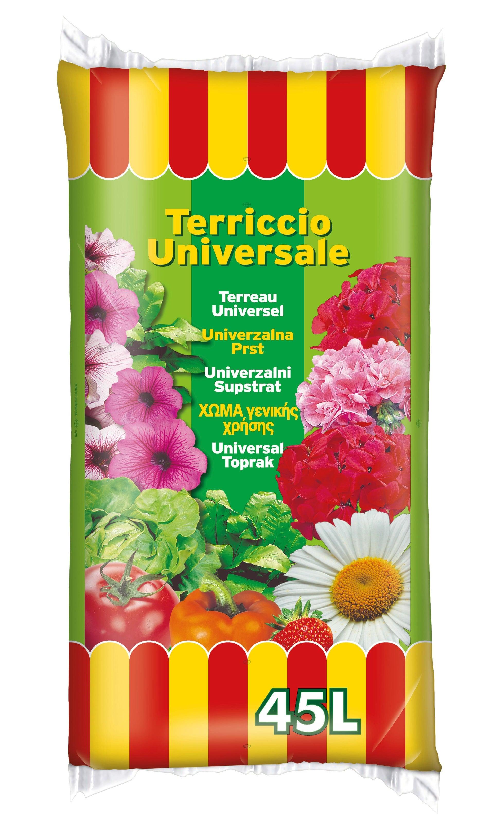 Terriccio per piante a bancale 2700 L - 3
