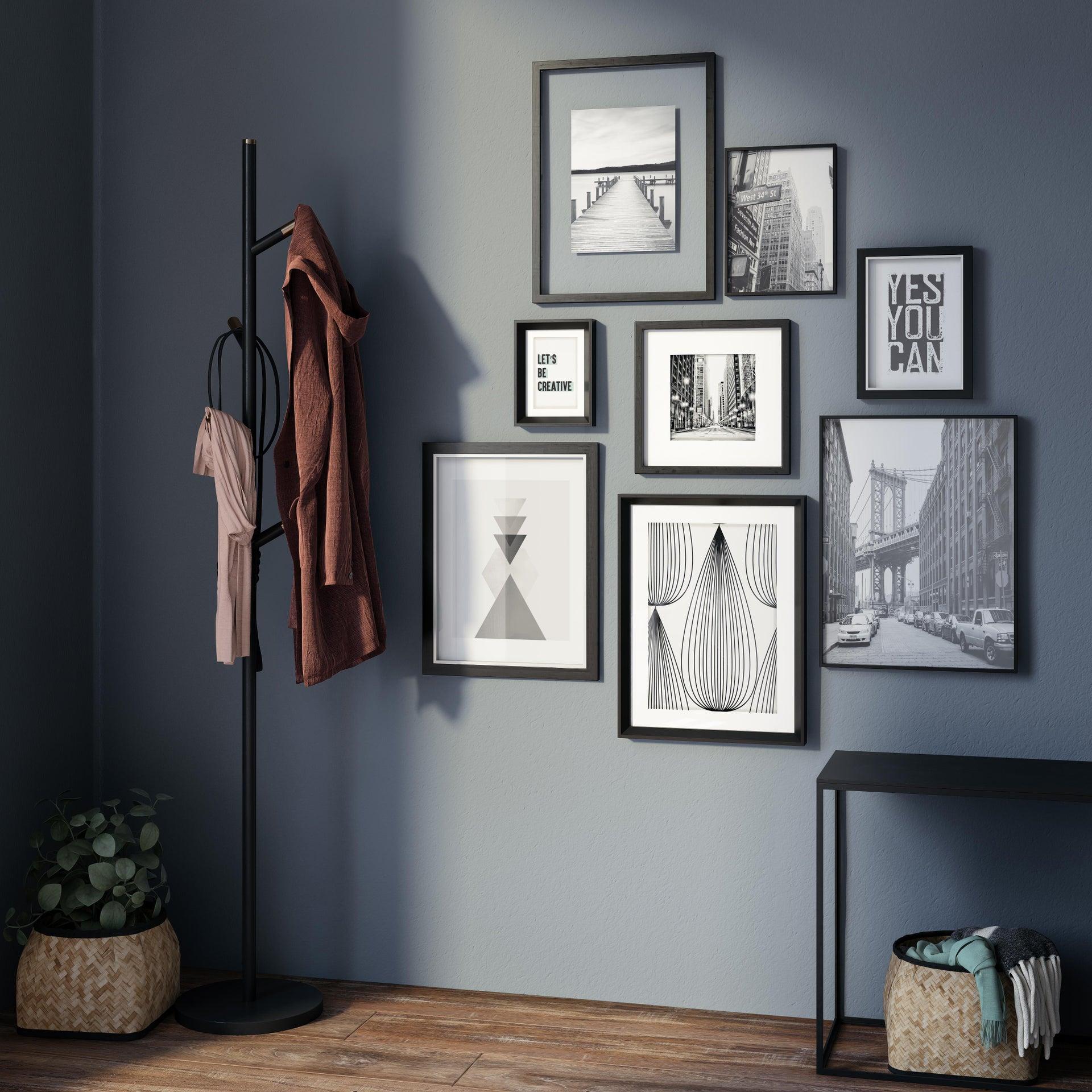 Cornice INSPIRE Lila nero per foto da 40x50 cm - 6