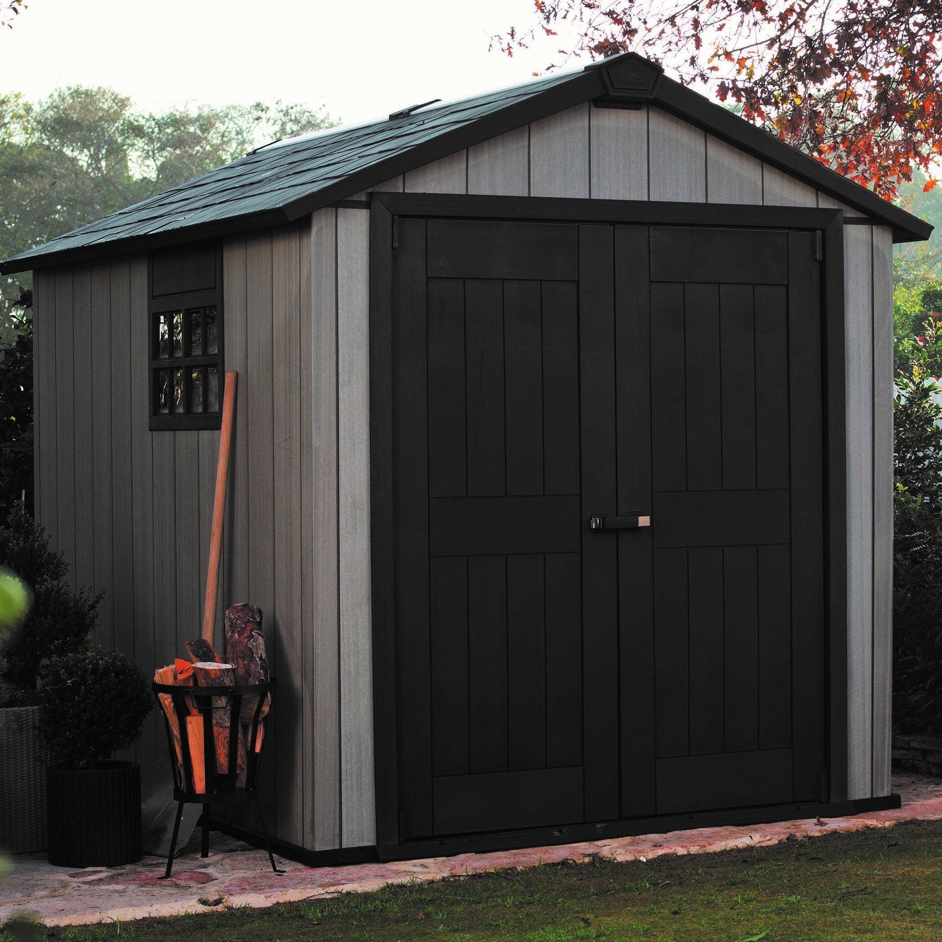 Casetta da giardino in polipropilene Oakland 759 KETER, superficie interna 5.25 m² e spessore parete 20 mm - 3
