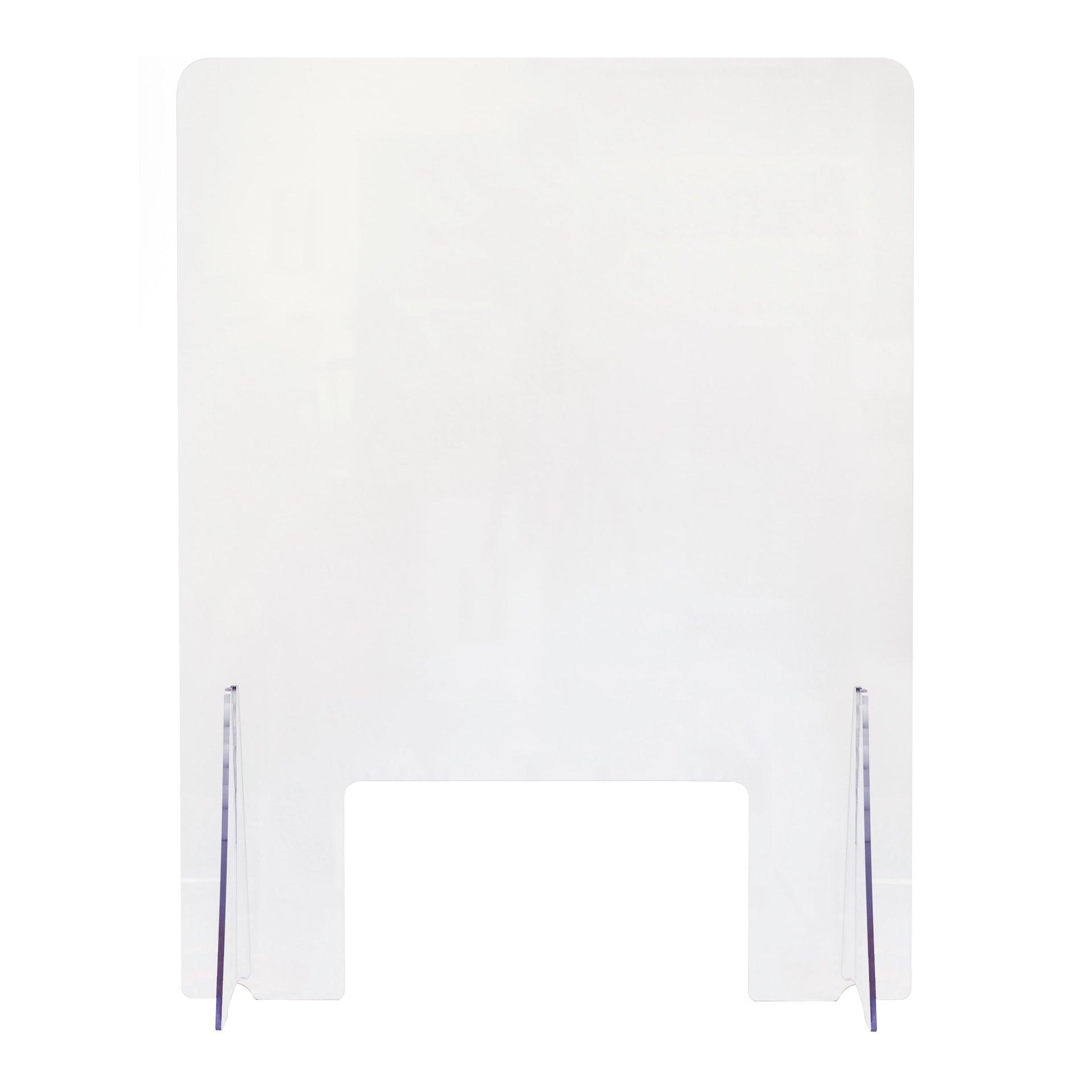Schermo di protezione acrilico trasparente 80 cm x 80 cm, Sp 0.5 mm - 3