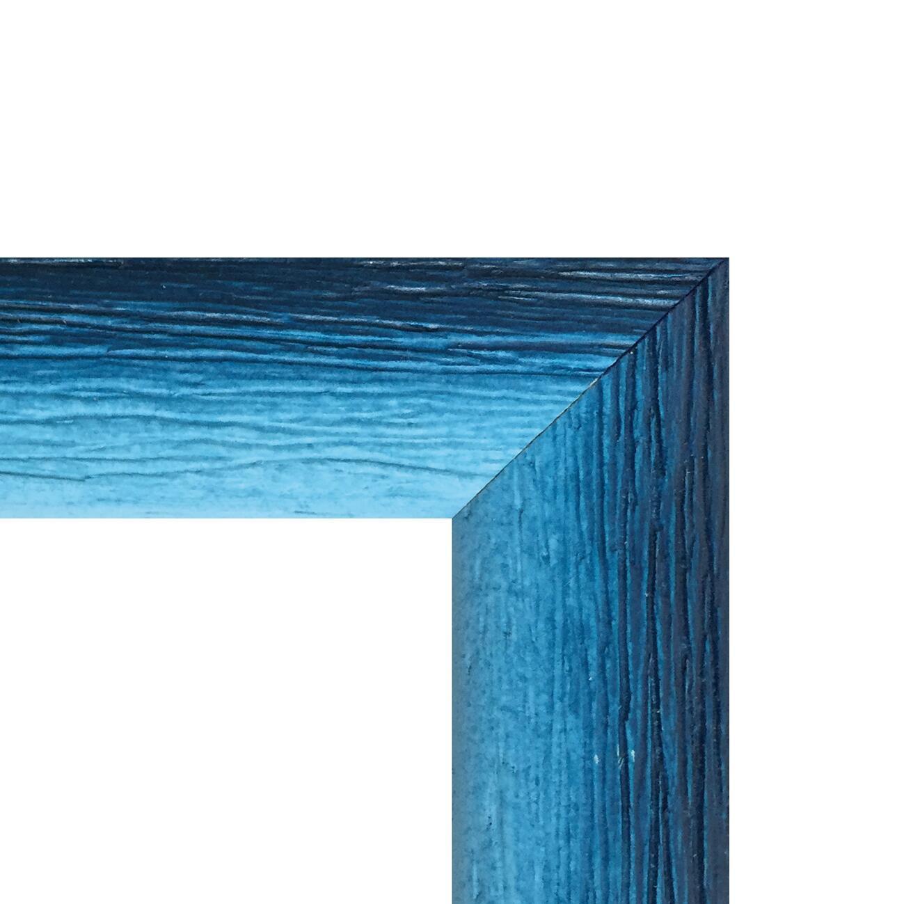 Cornice INSPIRE Bicolor azzurro<multisep/>blu per foto da 13x18 cm - 2