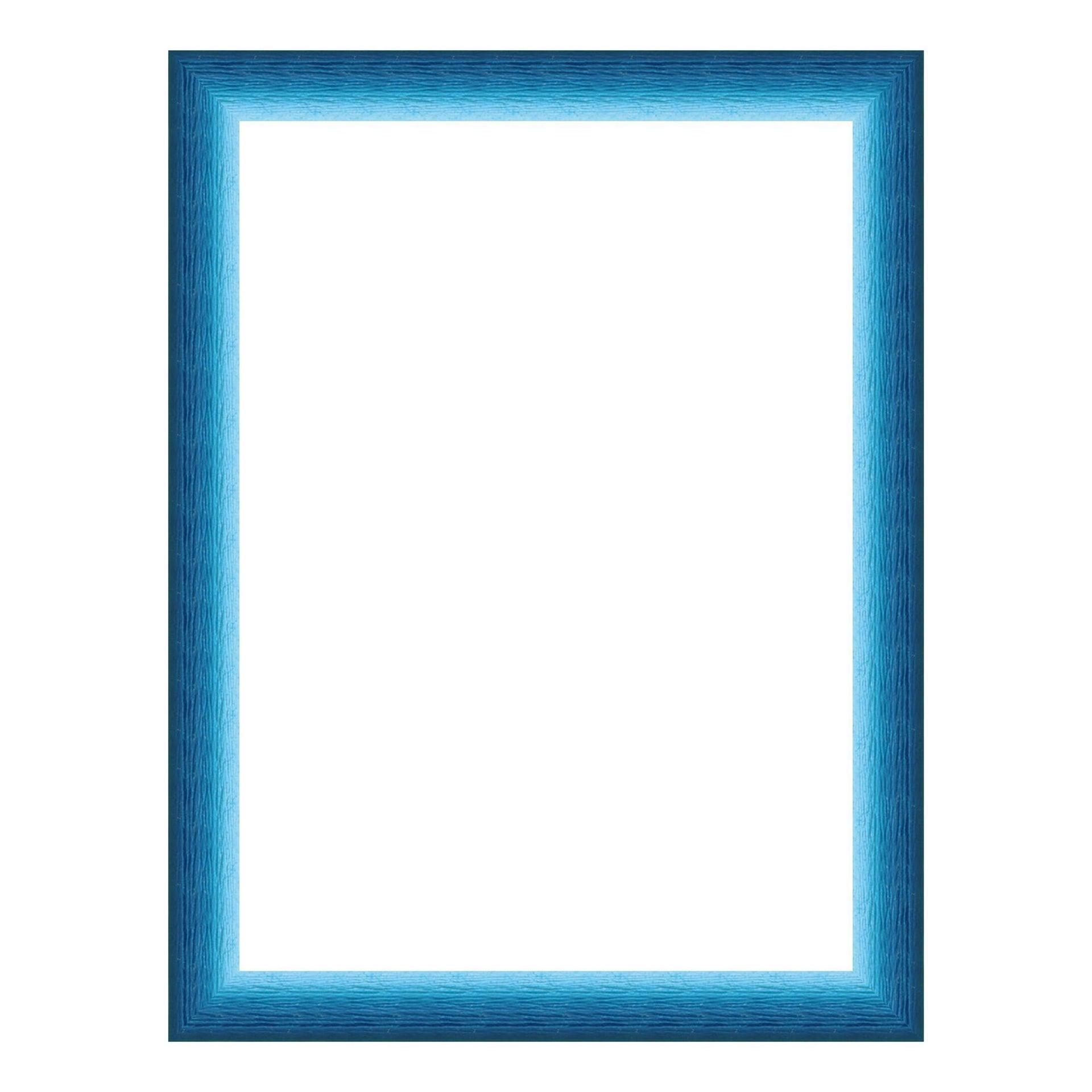 Cornice INSPIRE Bicolor azzurro<multisep/>blu per foto da 13x18 cm - 1