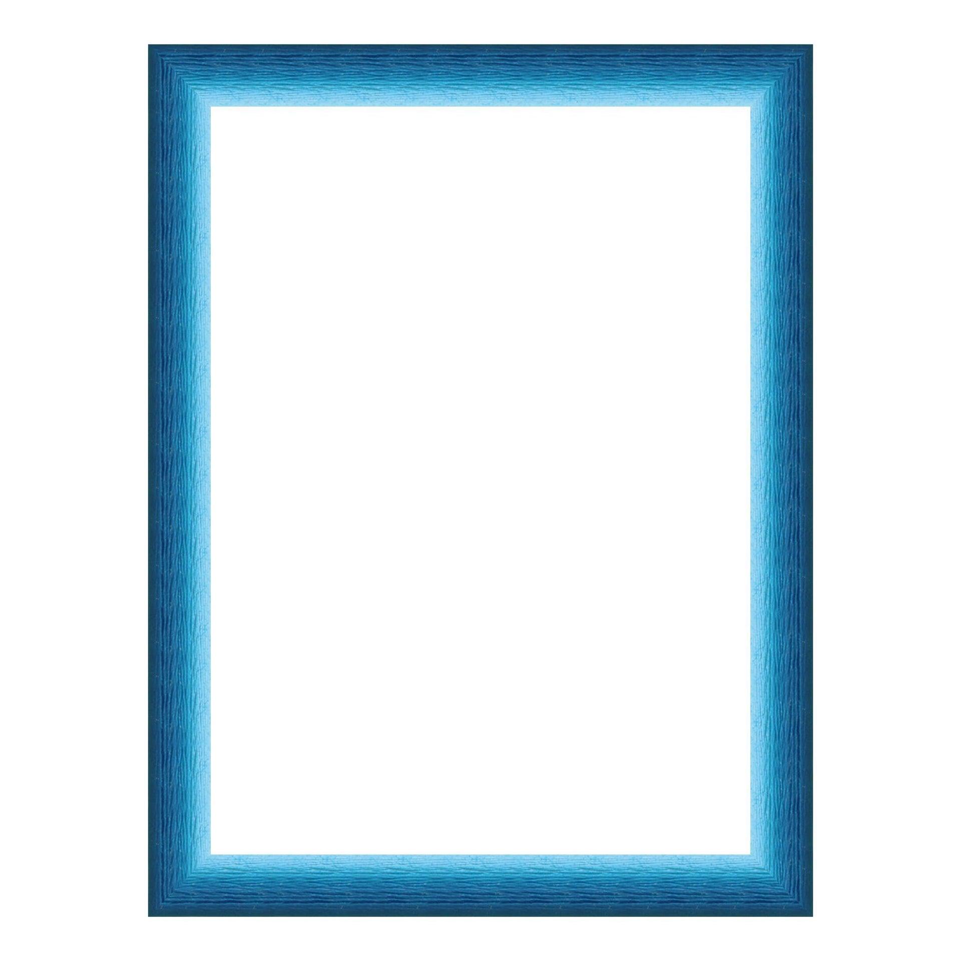 Cornice INSPIRE Bicolor azzurro<multisep/>blu per foto da 10x15 cm - 1