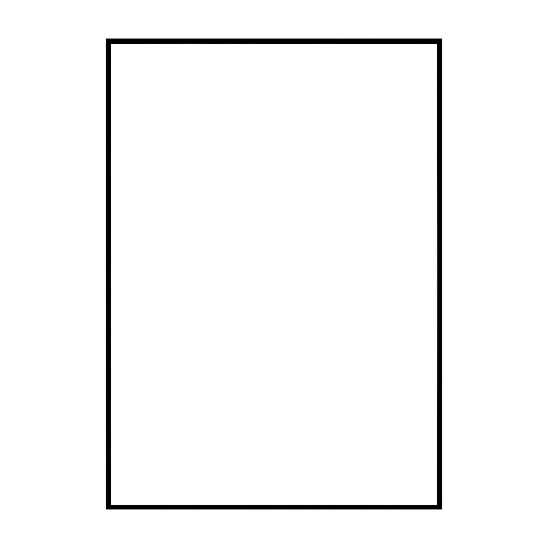 Cornice INSPIRE Lila nero per foto da 70x100 cm - 8