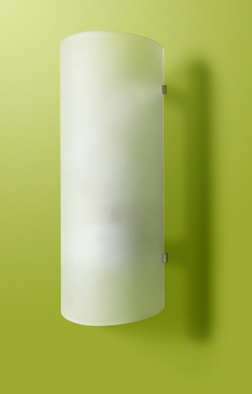 Applique classico Hanko bianco, in vetro, 26.0x10.5 cm, - 8