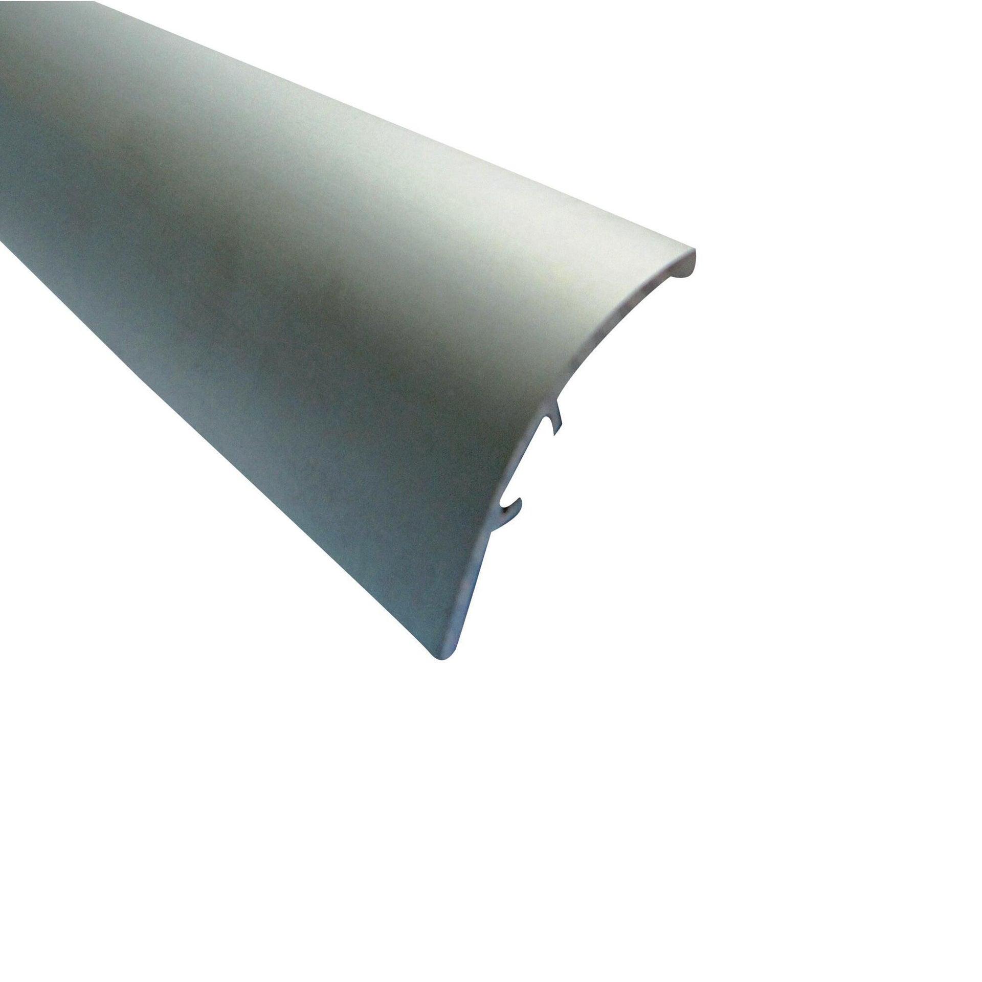 Soglia di dislivello argento 40 mm x 270 cm - 1