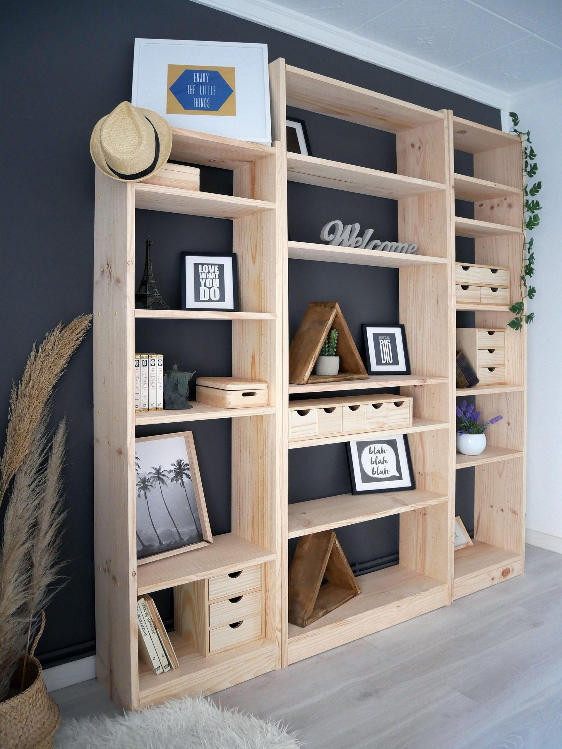 Libreria Gala L 50 x P 25 x H 120.7 cm marrone - 9