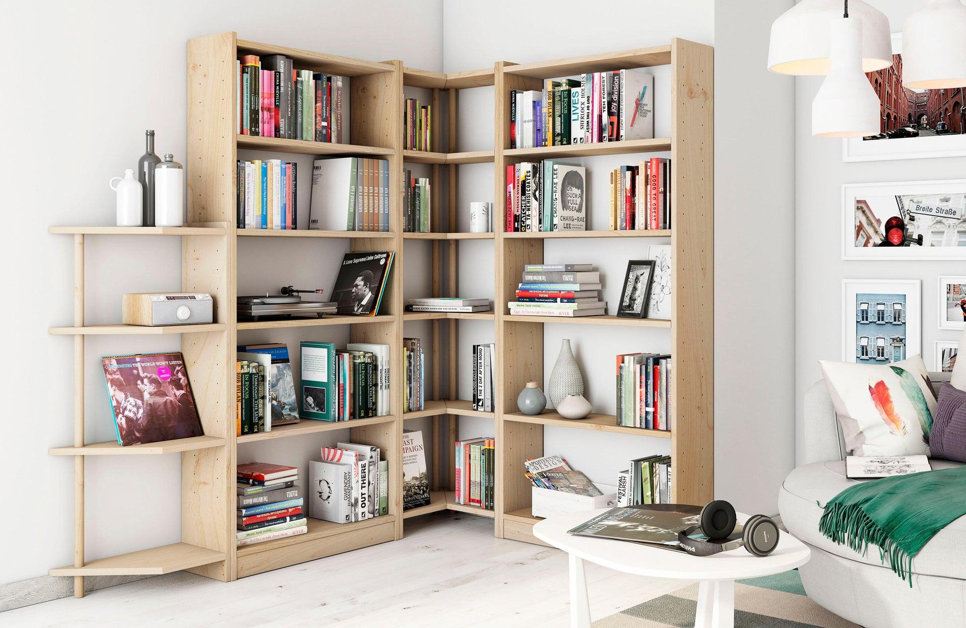 Libreria Gala L 50 x P 25 x H 120.7 cm marrone - 14