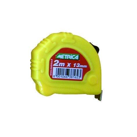 Flessometro pieghevole METRICA plastica 2 m