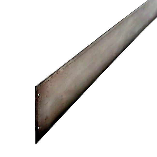 Bordura in rotolo in acciaio ALUBORD CORTEN L H5 CM L 150 x H 5 cm - 1
