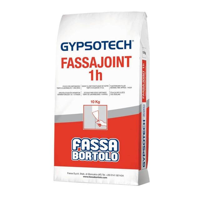 Stucco in polvere FASSA BORTOLO Fassajoint 1H 10 kg - 1