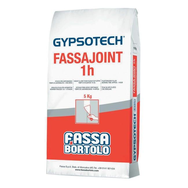 Stucco in polvere FASSA BORTOLO Fassajoint 1h 5 kg - 1