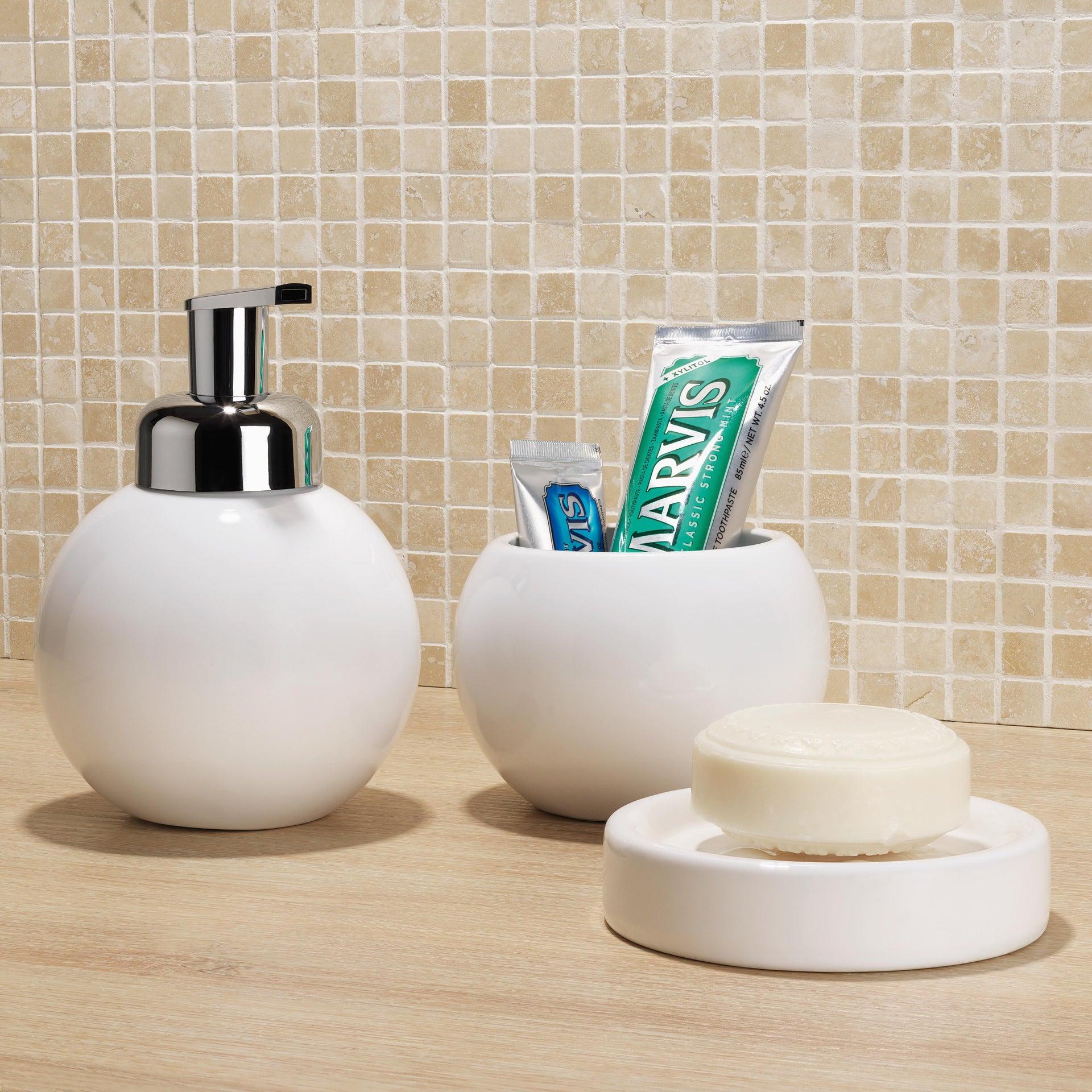 Dispenser sapone Bubble bianco - 1