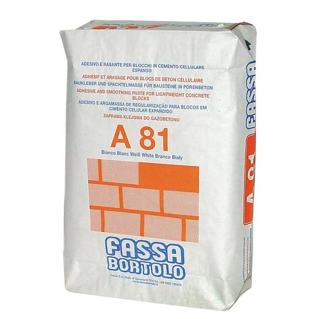 Collante rasante FASSA BORTOLO A81 25 kg - 1