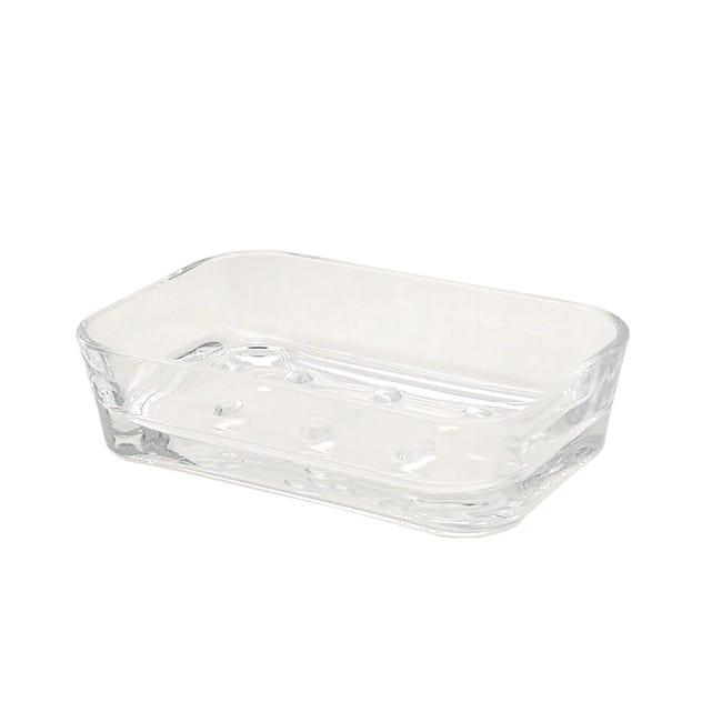 Porta sapone Claire trasparente - 1