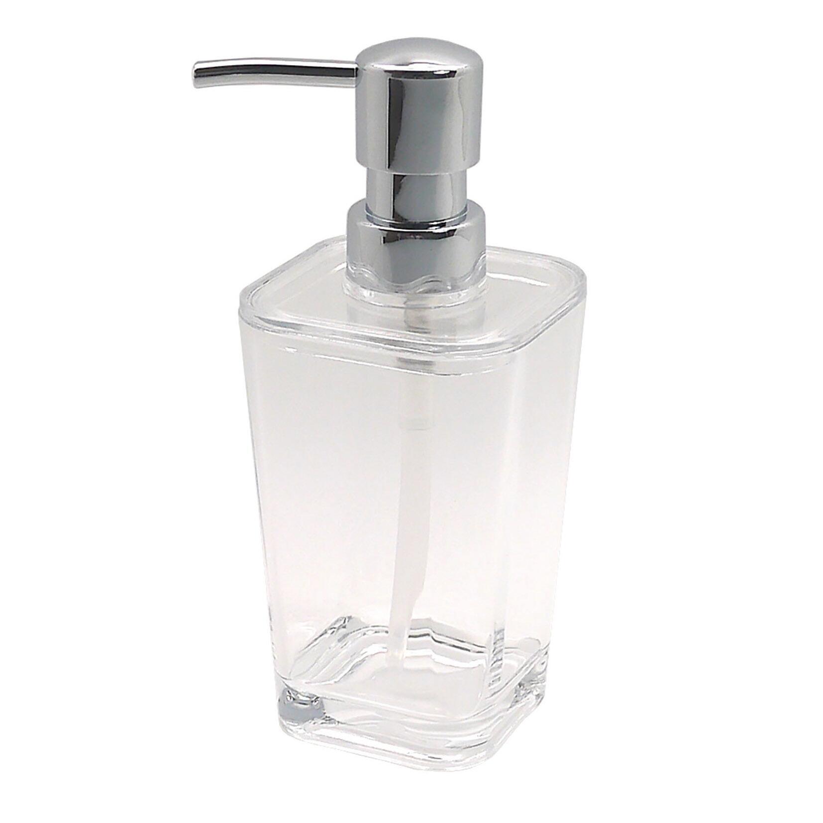 Dispenser sapone Claire trasparente - 1