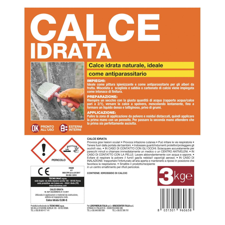 Calce idrata AXTON 3 kg - 2